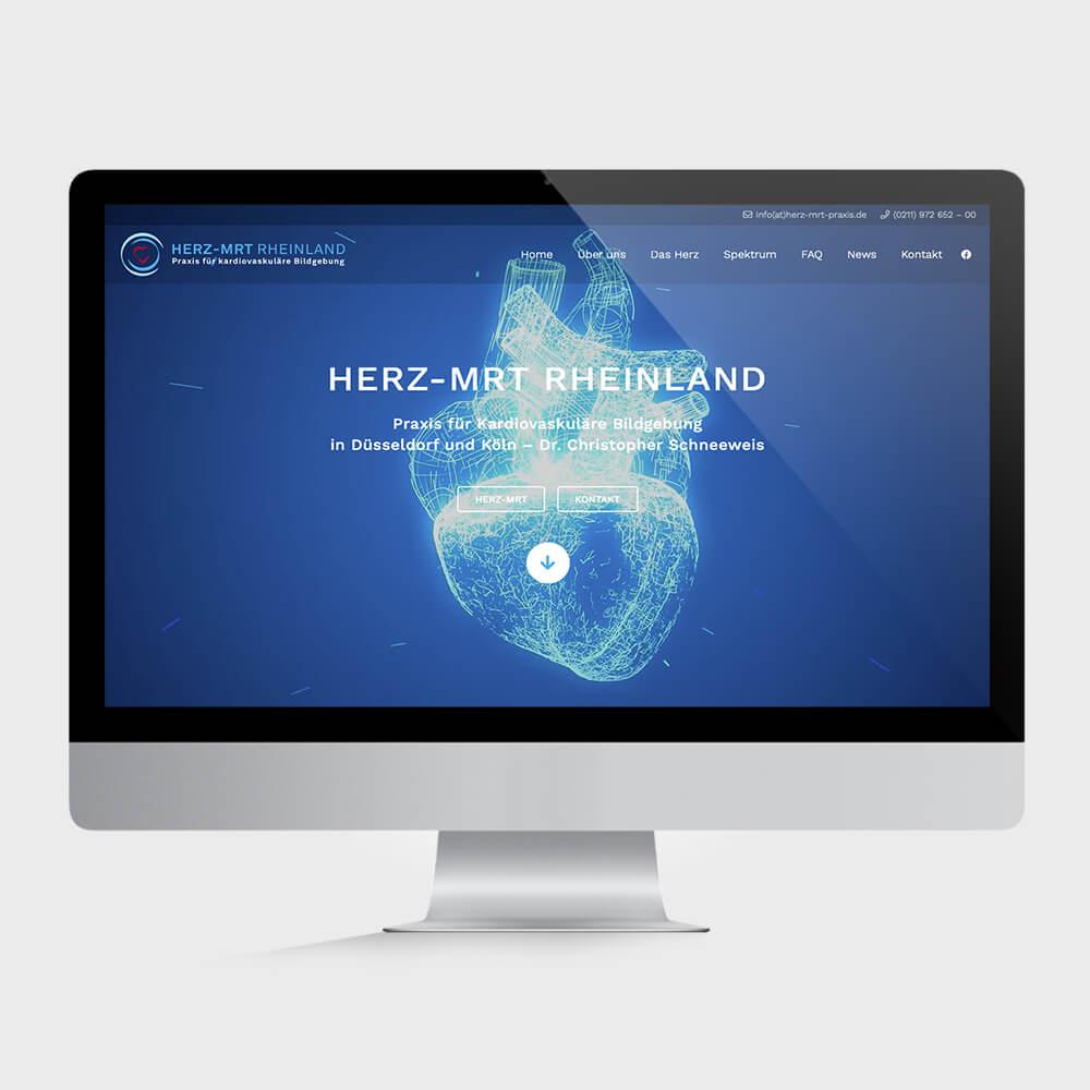 Herz-MRT Website Köln